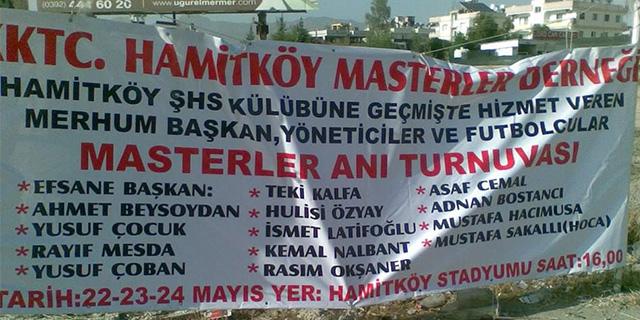 Hamitköy'de anlamlı turnuva start alıyor
