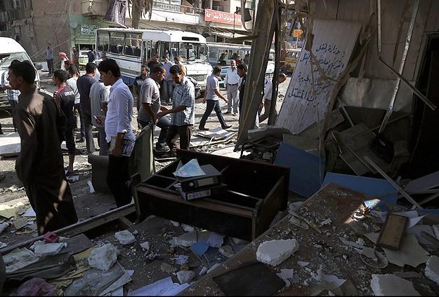 Ebu Gureyb'te sağlık merkezine bombalı saldırı