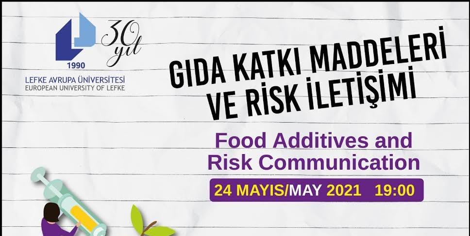 """LAÜ'de """"Gıda Katkı Maddeleri ve Risk İletişimi"""" konulu eğitim düzenlenecek"""