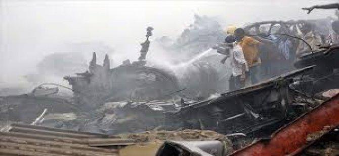 Nijerya'nın Kaduna Eyaletinde Askeri Uçağın Düşmesi Sonucu Hayatını Kaybedenlerin Sayısı 11'e Yükseldi