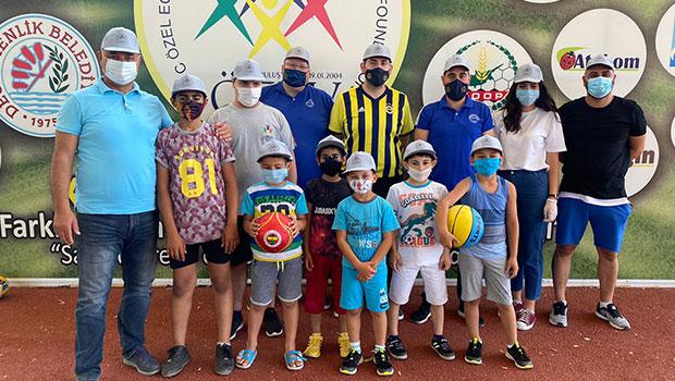 KKTC Fenerbahçeliler Derneği, ÖZEV'i ziyaret etti