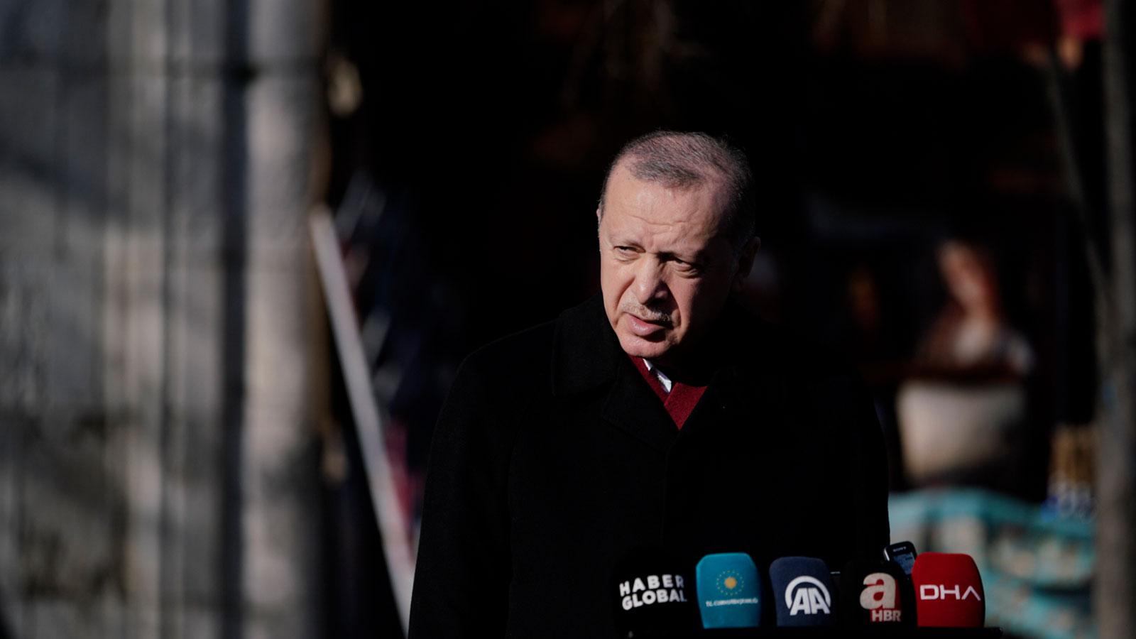 Erdoğan: KKTC'nin Cenevre'de sunduğu iki devletli çözüm önerisini destekliyoruz
