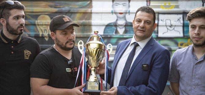 ARUCAD Anka Spor Derneği şampiyonluk sevincini kutladı