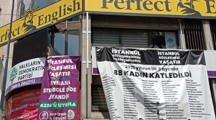 HDP İzmir il binasına saldırı düzenlendi: Bir kişi öldürüldü