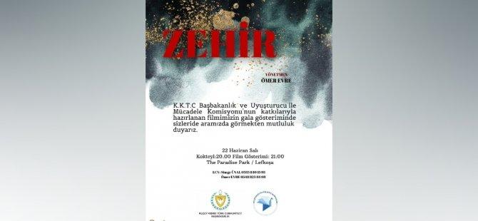 """""""Zehir"""" 26 Haziran'da BRT'de gösterilecek"""