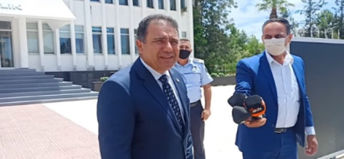 """Başbakan Saner: """"Çağman İstifa Sunmadı"""""""