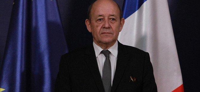 Fransa Dışişleri Bakanı: Türkiye'yle İlişkiler İyileşme Aşamasında Ancak Somut Adım Bekliyoruz