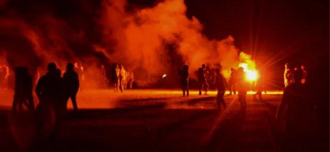 Fransa'da 1500 Kişilik Partiye Polis Müdahalesinde Çatışmalar Çıktı: Bir Kişi Elini Kaybetti, 5 Polis Yaralandı
