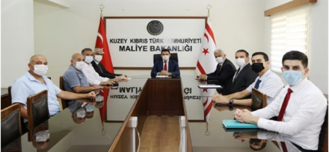 Maliye Bakanı Oğuz, KTSO Yeni Yönetimiyle Görüştü
