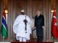 Gambiya Cumhurbaşkanı Jammeh Ankara'da