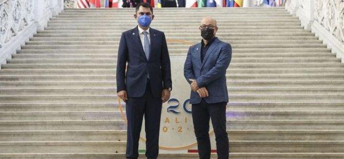 """Türkiye Çevre ve Şehircilik Bakanı Kurum, G20'de """"İklim Dirençli Şehirler"""" için bütünleşik stratejilere vurgu yaptı"""