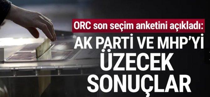 ORC son seçim anketini açıkladı: AK Parti ve MHP'yi üzecek sonuçlar