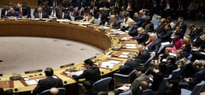BM Güvenlik Konseyi Başkanlık Açıklaması Rum Gazete  Manşetlerinde