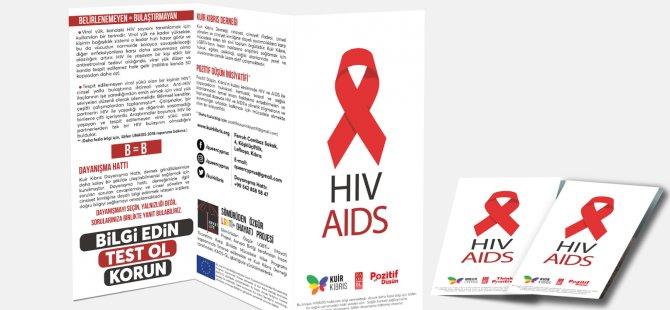 Kuir Kıbrıs Derneği'nin, HIV-AIDS ile ilgili Bilgilendirici Kitapçığını 'çevrimiçi' yayında