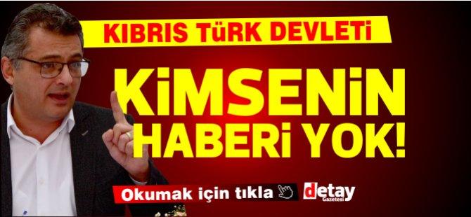 """Erhürman: """"Esas mesele, 'Kıbrıs Türk Devleti'yle ilgili kimsenin bir bilgisinin olmaması!"""""""