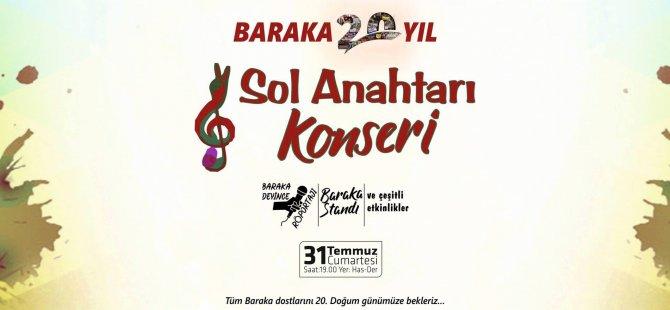 Baraka Kültür Merkezi 20. Yıl Etkinliklerine Devam Ediyor