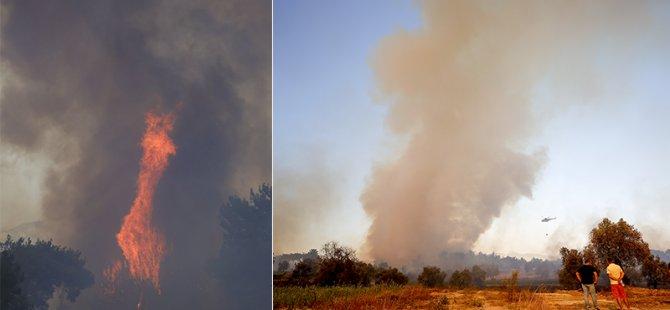 Antalya'daki yangın sürüyor: 1 kişi hayatını kaybetti, 10 kişi mahsur kaldı