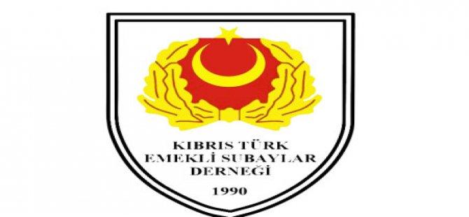 Kıbrıs Türk Emekli Subaylar Derneği, 1 Ağustos Toplumsal Direniş Bayramı dolayısıyla kutlama mesajı yayımladı
