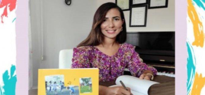 """""""Müzik Etkinlikleriyle Kıbrıs Türk Çocuk Oyunları"""" isimli kitabı Ağustos'ta kitabevlerinde"""
