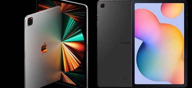 Tablet pazarında aslan payı yine Apple ve Samsung'un