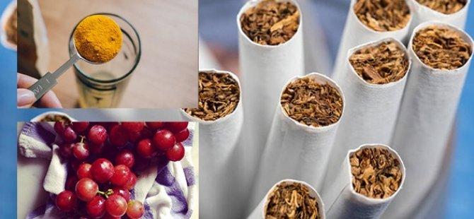 Alkol ve Sigaranın Vücuda Verdiği Zararı En Aza İndirgeyen Besinler