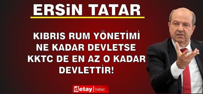 Tatar, Gündeme Dair Değerlendirmelerde Bulundu