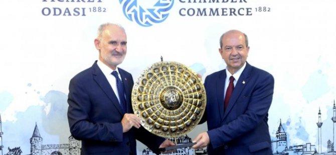Cumhurbaşkanı Ersin Tatar, İTO'yu Ziyaret Etti