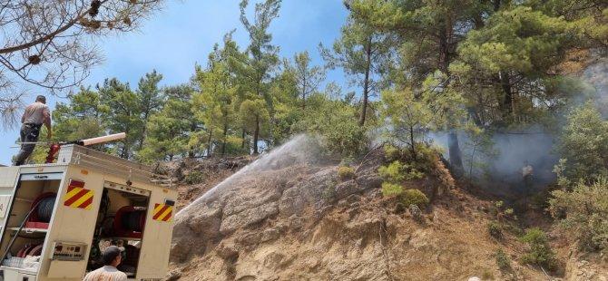 Sivil Savunma Ekipleri Manavgat'taki Yangınlara Müdahale Ediyor