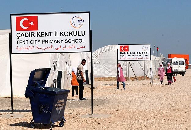 """Çadır kent sakinlerine """"şehir hayatı"""""""
