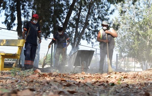 LTB'nin okullardaki temizlik çalışmaları sürüyor
