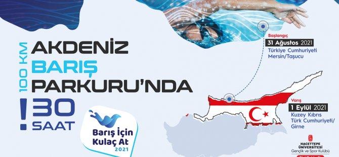 Yüzücüler, Taşucu'ndan Girne'ye Barış İçin Yüzecek