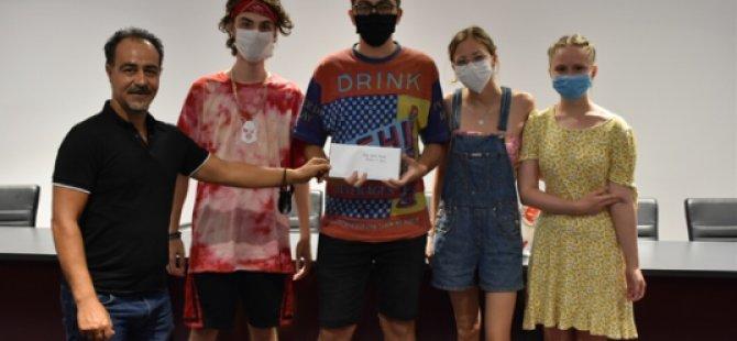 Girne'de Grafiti ve Resim Yarışmasında Ödüller Sahiplerini Buldu