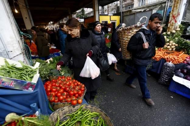 T.C. Merkez Bankası'nın yüzde 14,1 olan yıl sonu enflasyon tahmini Orta Vadeli Program'da 16,2 oldu