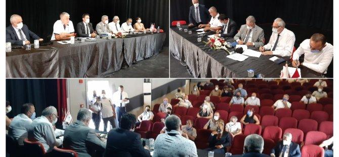 İçişleri Bakanlığı ile Girne ilçesine bağlı 5 belediye arasında MAKS Projesi'nin ikinci etabı için protokoller imzalandı