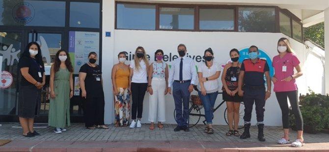Girne Belediyesi Sosyal İşler Şubesi Personeli, Evde Yaşlı ve Hasta Bakımı Konusunda Eğitim Aldı