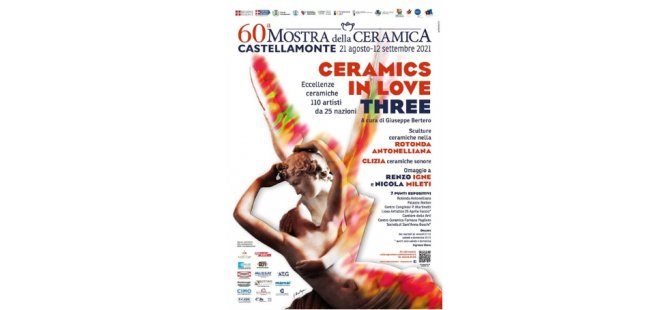 Arucad Öğretim Görevlisi Yağlı'nın Eseri 60. Castellamonte Seramik Sergisi'nde