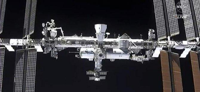 Uluslararası Uzay İstasyonu'nda duman alarmı