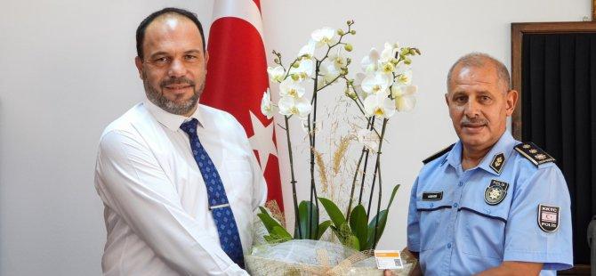 Sadıkoğlu; İskele Polis Müdürlüğüne Atanan Kuni'yi Ziyaret Etti