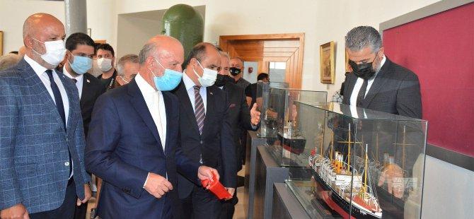 Çanakkale Deniz Savaşı Gemileri Koleksiyon Sergisi YDÜ'de açıldı