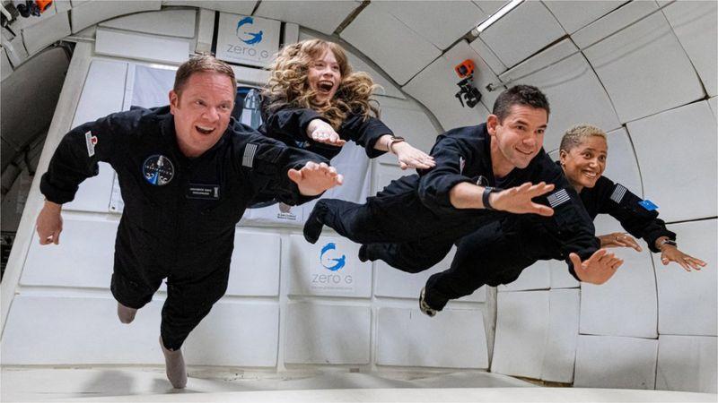 Inspiration4: Dört amatör astronotun uzay yolculuğu için geri sayım başladı
