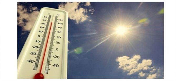 Hava Sıcaklığı Hafta Boyunca 34-37 Derece Dolaylarında Olacak