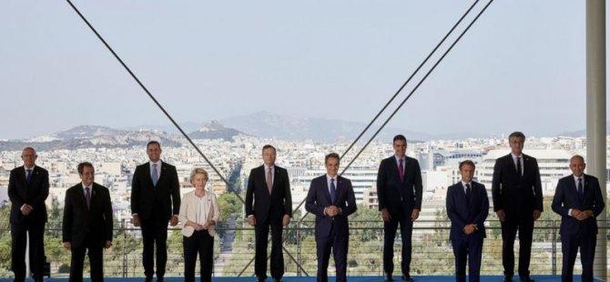 AB üyesi Akdeniz ülkelerinin Atina'da düzenlenen zirvesinde neler konuşuldu, Türkiye'ye hangi mesajlar verildi?