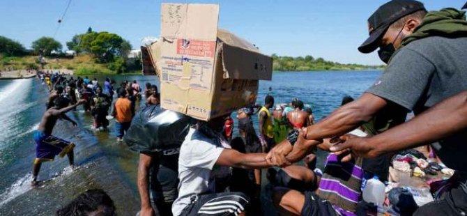 ABD düzensiz Haitili göçmenleri uçaklarla ülkelerine iade edecek