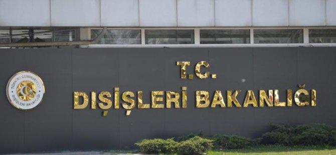Ankara'dan MED9 bildirisine tepki