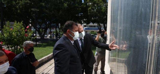 Başbakan Saner, dün Hatay'ın İskenderun ilçesinde gazilerle bir araya geldi