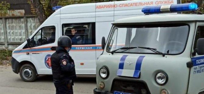 Rusya'da üniversiteye silahlı saldırı: 8 ölü