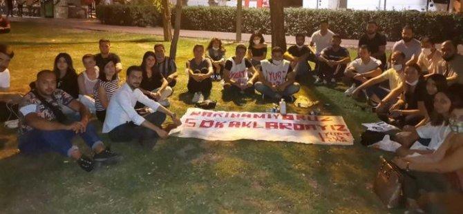 """Ankara'da """"Barınamıyoruz"""" eylemine müdahale"""