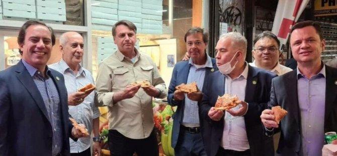 Corona aşısı yaptırmamıştı… Brezilya lideri Bolsonaro'yu pizzacı bile almadı
