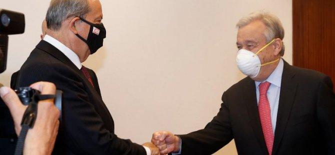 Cumhurbaşkanı Tatar, BM Genel Sekreteri Guterres ile Cumartesi günü görüşecek