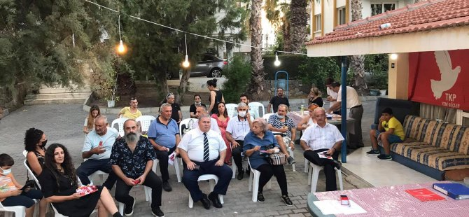 Girne İlçe Başkanlığı'na yeniden Yurdaer Garip seçildi